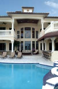 Luxury House Plans With Pools gallery for gt mediterranean house plans with pool