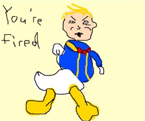 donald trump duck duck is us president