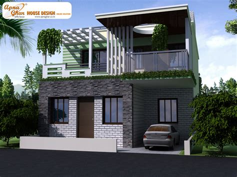 duplex housing decosee modern beautiful duplex house design