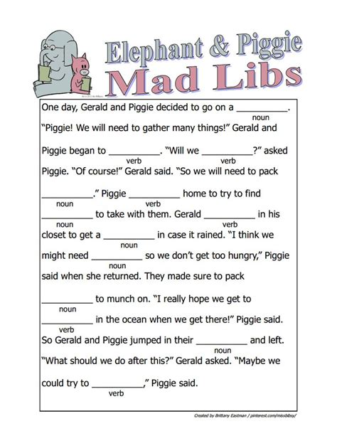 printable road trip mad libs 205 best images about vacation road trip binder printable
