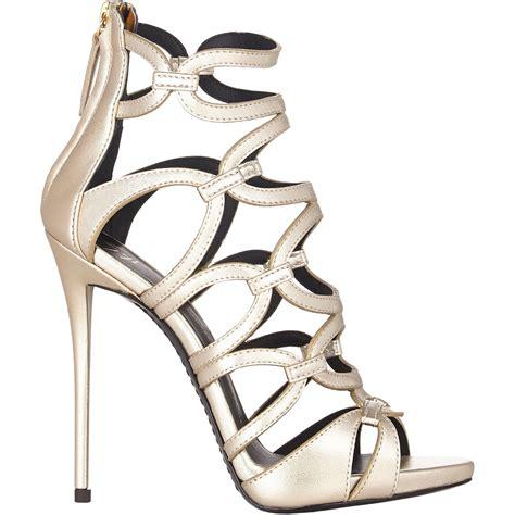 giuseppe zanotti gold sandals giuseppe zanotti link platform sandals gold size 6