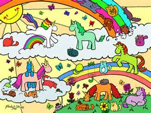 unicorn caticorn free coloring sample plaidsandstripes deviantart