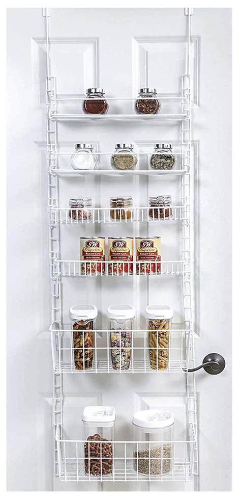 door adjustable pantry organizer rack storables