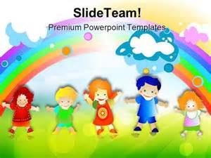 free children powerpoint templates happy children powerpoint templates and powerpoint