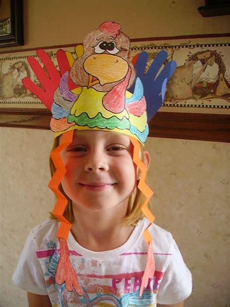 printable turkey hats turkey headband kids glitter