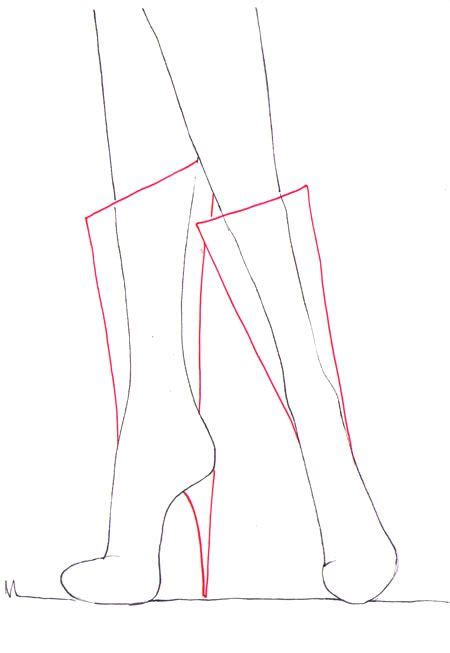 draw boots 17 best ideas about drawing fashion on fashion