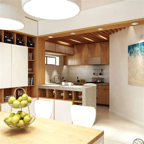 kitchen divider design ideas awesome contemporary kitchen design and dining room with