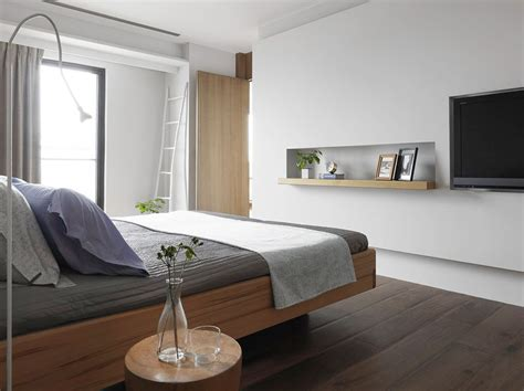 Modern Simple Bedroom by Simple Bedroom With Tv