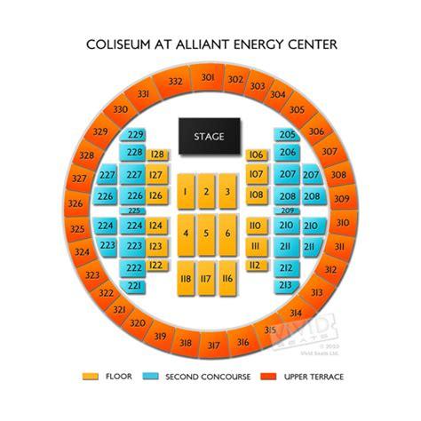 alliant energy center seating coliseum at alliant energy center seating chart seats