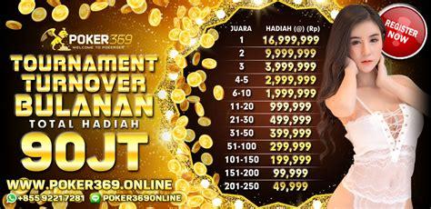 bandar turnamen poker terbesar indonesia gratis berhadiah  juta