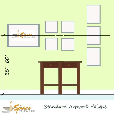 hanging art height designer tip 2 hang artwork a space to call home
