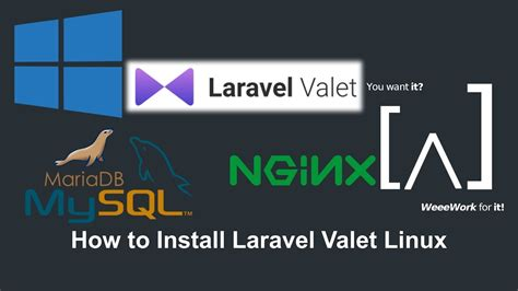 tutorial install laravel how to install laravel valet on windows 10 8 7 youtube