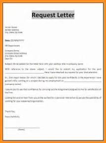 Request Letter Code 10 Application Letter Format Sle Scholarship Letter