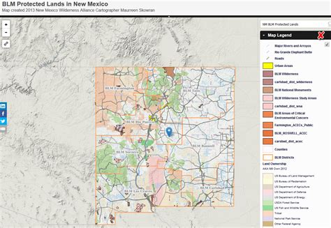 Finder Mexico Blm Maps New Mexico My