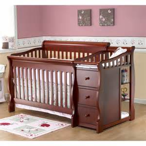 4 In 1 Convertible Crib With Changing Table Sorelle Tuscany 4 In 1 Convertible Fixed Side Crib And Changing Table Combo Choose Your Finish