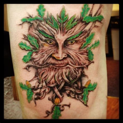 green man tattoo 39 best green designs for images on