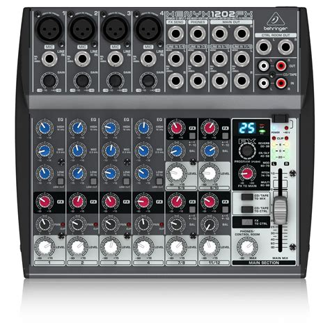 Mixer Behringer 4 Chenel behringer xenyx 1202fx mixer at gear4music