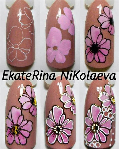 Nail Step By Step by Nail Step By Step Flowers Www Pixshark Images
