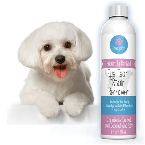 shih tzu tears omegapet tear stain remover for dogs the fastest