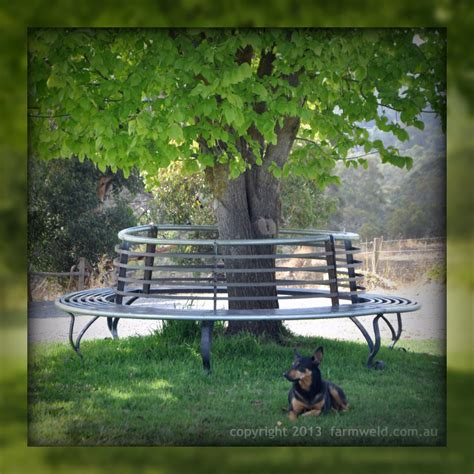 wrought iron tree bench wrought iron tree seat and steel tree bench farmweld