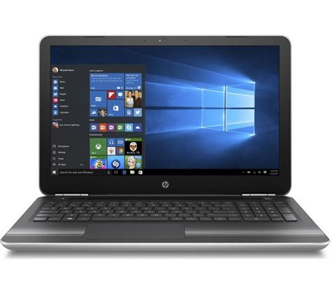 Laptop I7 Hp hp pavilion hd 15 6 quot laptop with the intel 174 core i7 processor silver deals pc world