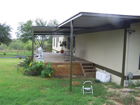 mobile home carports awnings mobile home metal roof awning carport la vernia