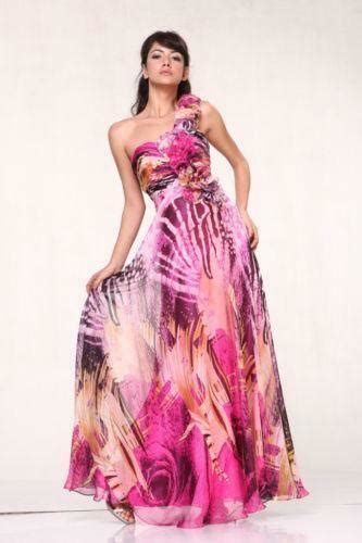 multi colored prom dresses multi colored prom dress ebay