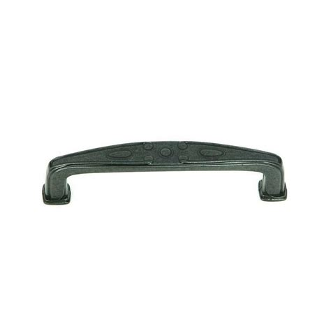 black cabinet pulls 3 inch stone mill hardware milan 3 3 4 inch center to center