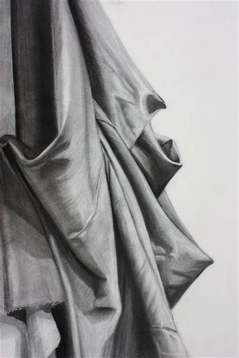 drawing drapery charcoal drapery study art drapery studies pinterest