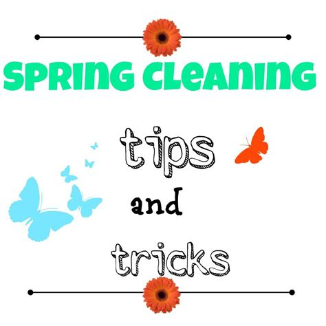 tips for spring cleaning spring cleaning tips and tricks debbiedoo s