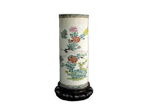 vaso di ceramica vaso in ceramica giapponese con decorazioni floreali