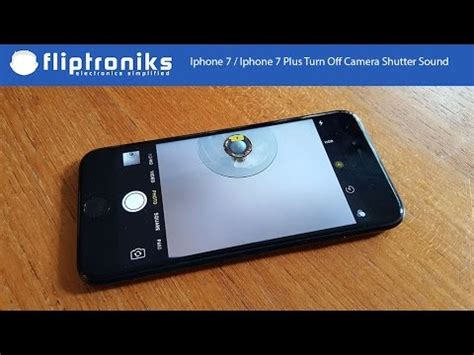 iphone 7 iphone 7 plus how to turn shutter sound fliptroniks