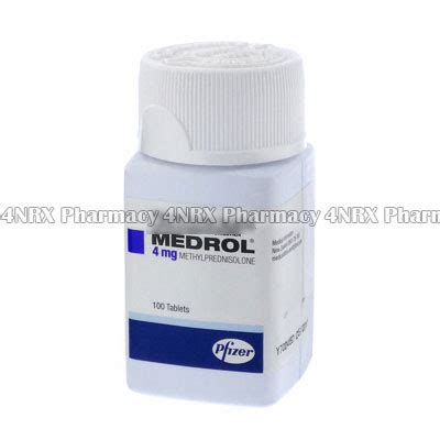 Methylprednisolon 4mg medrol methylprednisolone 4nrx uk
