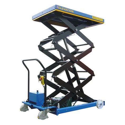 electric mobile scissor lift table 500kg mobile