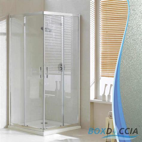 chiusura doccia scorrevole box cabina doccia vetro chiusura angolare apertura
