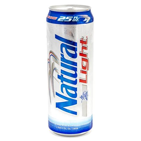 natural light busch natural light 25oz can beer wine and liquor