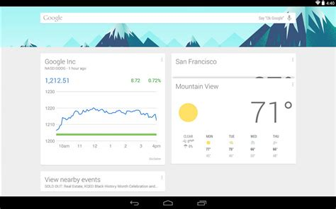 google now images most popular launchers for android android live