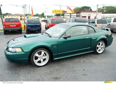 2001 mustang coupe 2001 electric green metallic ford mustang gt coupe