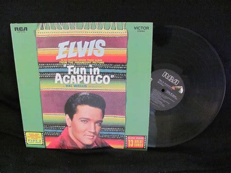 elvis in acapulco lp rca roots vinyl guide