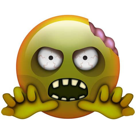 emoji zombie animated zombie emoticon www imgkid com the image kid