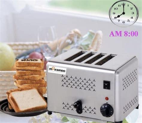 Toaster Roti jual mesin bread toaster roti bakar d04 di semarang toko mesin maksindo semarang toko