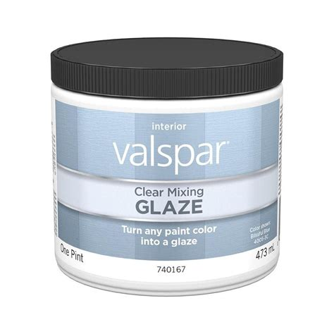 valspar translucent color glaze shop valspar clear glaze actual net contents 16 fl oz