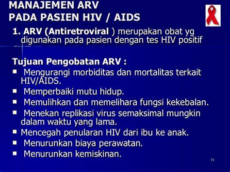 Obat Antiretroviral Arv askep kelg dgn hiv
