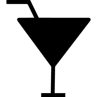 cocktail silhouette cocktail black silhouette free vectors logos icons and