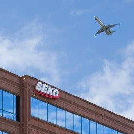 air freight logistics and aircraft manufacturing logistics seko