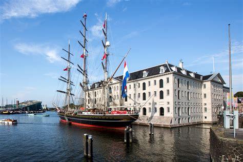 scheepvaartmuseum amsterdam schip neem een kijkje aan boord van stad amsterdam zeilen