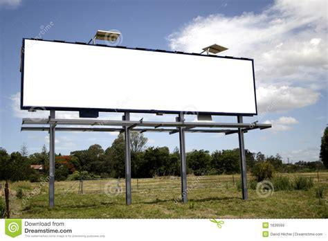 Large Estate House Plans blank billboard royalty free stock images image 1639599