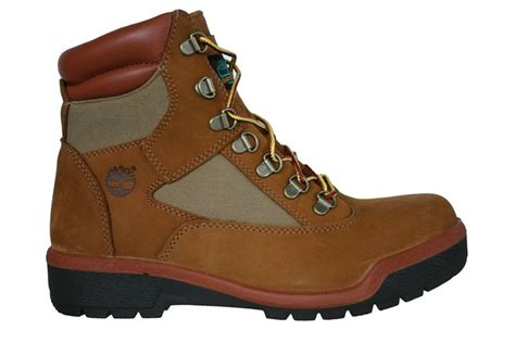 timberland 6 inch mens field boots brown suede 98519 ebay