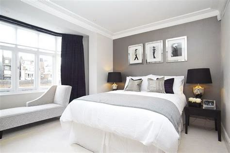 Gray And White Master Bedroom by Gray And White Bedroom Master Bedrooms Pinterest