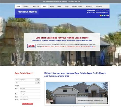 fishhawk homes for sale creative web actions